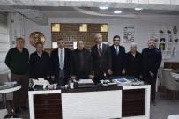 İl Başkanı Akçay'dan Gazeteciler Cemiyetine Ziyaret