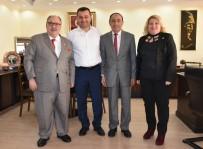 ADEM MURAT YÜCEL - Kamu-Der Genel Başkanı Baştuğ, Yücel'i Ziyaret Etti