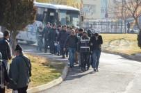Karaman'da FETÖ'den Gözaltına Alınan 13 Kişi Adliyeye Sevk Edildi