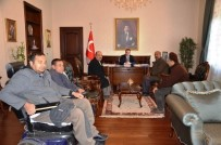 BAŞTÜRK - Kilis Engelliler Yardımlaşma Ve Dayanışma Derneğinden Vali Çataklı'ya Ziyaret