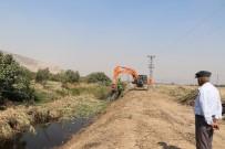 DERE YATAĞI - Manisa'da 25 Bin 385 Metre Dere Temizlendi
