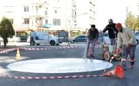 SINANOĞLU - Muratpaşa'dan Savaş Caddesine Asfalt