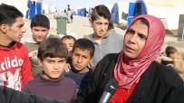 SIĞINMACILAR - Musul'daki Hasan Şam Kampı Sığınmacıları Yardım Bekliyor