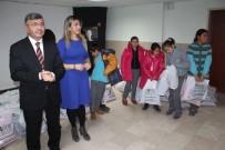 KANUNİ SULTAN SÜLEYMAN - Niğde Belediye Başkanı Faruk Akdoğan, Minik Öğrencileri Sevindirdi