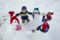 GÜNEŞLI - Ovacık'ın En Renkli Kardan Çocukları