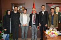 BALCı - Söke'de Üniversite Bölüm Temsilcisi Öğrencilerinden Başkan Toyran'a Ziyaret