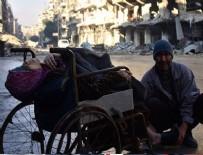 TEKERLEKLİ SANDALYE - Suriyeli annenin dramı