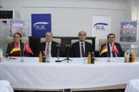 SOSYAL GÜVENLIK - Türkiye-Almanya Danışma Günleri'nin 48'İncisi Mersin'de Yapılıyor