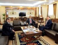 YÖK Başkan Vekili Prof. Dr. Hasan Mandal, Vali Özefe'yi Ziyaret Etti