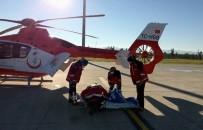 AMBULANS HELİKOPTER - 12 Yaşındaki Çocuk İçin Ambulans Helikopterler Seferler Oldu