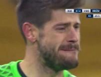 DINAMO KIEV - 4-0'dan sonra gözyaşlarını tutamadı!.