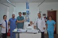 97 Yaşındaki Mehmet Dede ADÜ'de Sağlığına Kavuştu