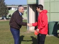 OSMANLISPOR - Akhisar Belediyespor, Osmanlıspor Maçı Hazırlıklarını Sürdürüyor
