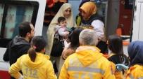 BEBEK - Alevlerin Arasında Kalan Vatandaşların Yardımına İtfaiye Yetişti