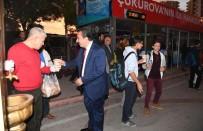 MİMARİ - Başkan Çetin Çorba İkram Etti