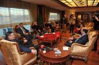 ŞEHİT AİLELERİ - Başkan Gökçek'e Anadolu Köy Korucularından Ziyaret