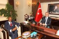 Başkan Köşker, Raunda Ankara Büyükelçisini Ağırladı