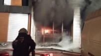 Başkent'te İş Yeri Yangını