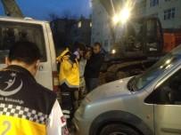 POLİS - Başkent'te İskeleden Düşen İnşaat İşçisi Yaralandı