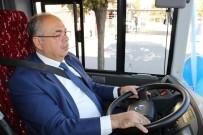 ŞEHİR İÇİ - Belediye Başkanı Otobüs Şoförü Oldu