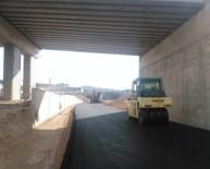 Çayırova OSB Köprülü Kavşağı'nda Çalışmalar Sürüyor