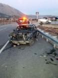AKKISE - Çorum'da Trafik Kazası Açıklaması 1 Yaralı