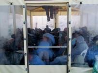 İRAN - Ege Denizi'nde 55 sığınmacı yakalandı