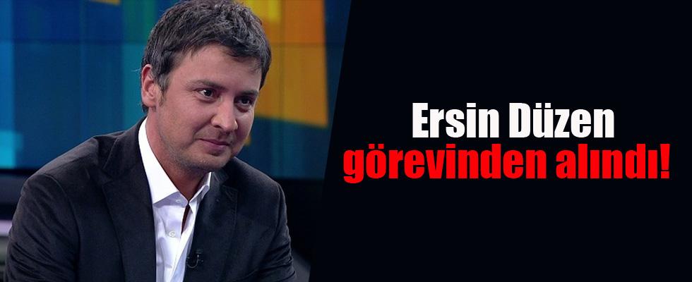Ersin Düzen Denizlispor'daki görevinden alındı