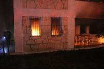 BITEZ - Evde Çıkan Yangın Korkuttu