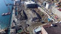 İNŞAAT ALANI - Galataport Havadan Görüntülendi