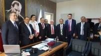 EMNİYET MÜDÜRÜ - Genel Başkanı Değirmenci'den Ziyaret