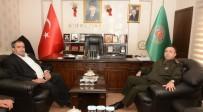 KOÇAK - İl Jandarma Komutanı Demir'den Başkan Koçak'a Ziyaret