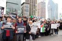 SKANDAL - İstanbul'da İsrail'e Ezan Protestosu