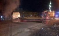 GAZİ YAŞARGİL - İstasyona Dönen Ambulans Alev Aldı