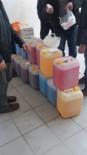 KAÇAK İÇKİ - İzmir'de Yılbaşı Öncesi Kaçak İçki İmalathanesine Baskın