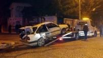 MOBESE - Konya'da Trafik Kazası Açıklaması 5 Yaralı