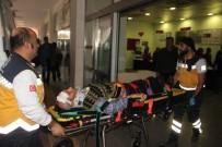 Lastiği Patlayan Araç Takla Attı Açıklaması 2 Yaralı