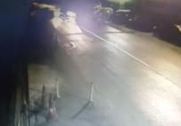 LÜKS OTOMOBİL - Otomobil tankere böyle çarptı