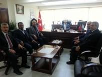 BÜROKRASI - Malatya Sağlık-Sen Şubesinden Kamu Hastaneleri Birliği Genel Sekreterliğine Ziyaret