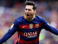 BORUSSİA MÖNCHENGLADBACH - Messi, Eusebio'yu yakaladı