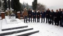 KARDEMIR KARABÜKSPOR - Metin Türker Mezarı Başında Anıldı