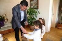 ANAOKULU ÖĞRENCİSİ - Minikler Başkan İle Tanıştı
