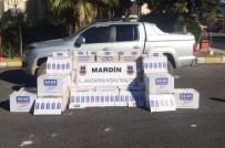 Nusaybin'de 2 Bin 750 Paket Kaçak Sigara Ele Geçirildi