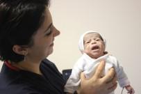 Kalp Ameliyatı Olan 2 Kilo Ağırlığındaki Suriyeli Bebek Hayata Tutundu