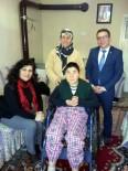 TEKERLEKLİ SANDALYE - Salihli'de Engellilerin Yüzü Gülüyor