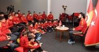 METİN OKTAY - Selçuk İnan, Minik Futbolcularla Buluştu