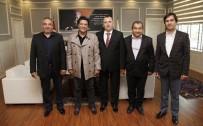 SERVİSÇİLER ODASI - Servisçiler Odası'ndan Başkan Genç'e Ziyaret