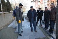 REKOR - Seydişehir'de Kaldırım Çalışmalarına Başlandı