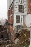 YONCALı - Şişli'de Çökme Tehlikesi Geçiren Bina Paniğe Neden Oldu
