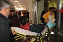 MOTOSİKLET SÜRÜCÜSÜ - Takla Atan Motosikletin Sürücüsü Yaralandı